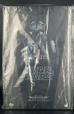 New Hot Toys 1/6 Star Wars First Order Force Awakens TIE Pilot MMS324 Japan