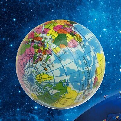Cute Stress Relief World Map Foam Ball Globe Funny Earth Ball for Child DB
