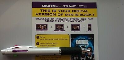 Men in Black 3 - Ultraviolet Code from a 4k UHD Bluray