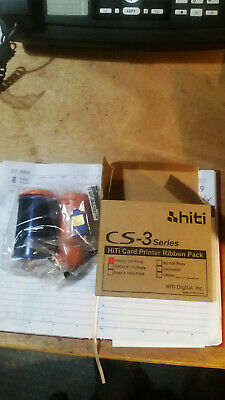 Printer Color Ribbon 200 cards NEW for HiTi Double sided ID Card Printer CS-320