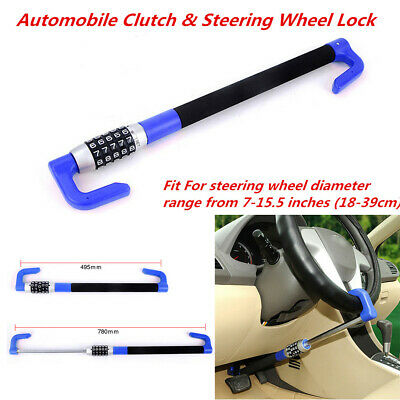 U-shaped Car Anti Theft Car Steering Wheel Lock Van Security Device Clutch Lock