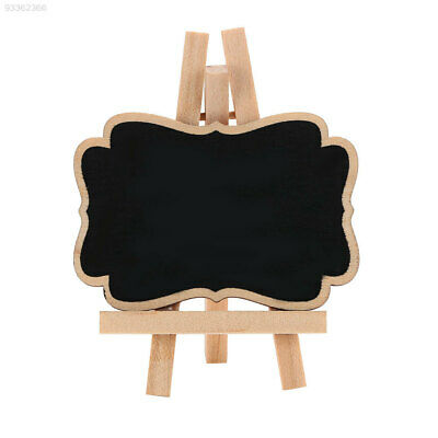 7AA4 Kids Decoration Chalkboards Wooden Blackboard Wedding