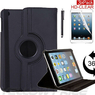 """For iPad 2 3 4 5 6 Air/Pro 11""""12.9"""" New Leather Case Cover +Screen Protector+Pen"""