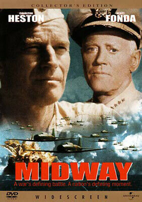 Midway (1976 Charlton Heston) (Collectors Edition) DVD NEW