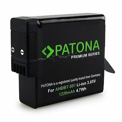 PATONA Premium Battery AABAT-001 AHDBT-501 for GoPro Hero 5