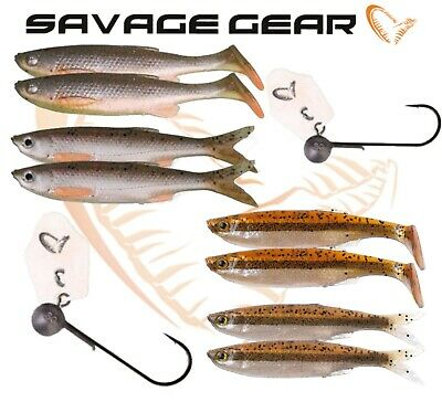 Savage Gear Crazy Blade Bleak Kit Green Pearl Silver verschiedene Größen