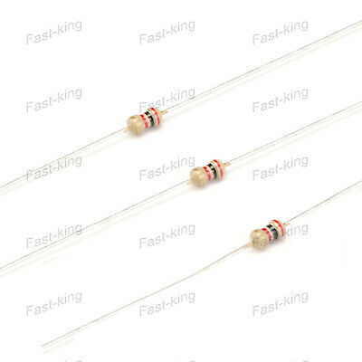 1.5-1.5MΩ Various Value Resistors In 1/6W Power 5% Carbon Film Kit- Full Range