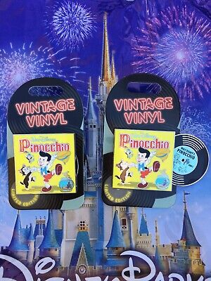 Disney World Parks Vintage Vinyl Pinocchio Pin LE In Hand