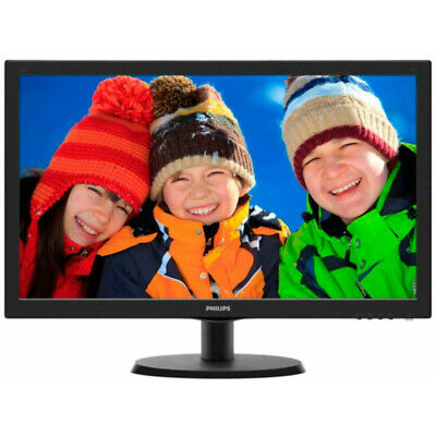 "Philips Monitor 22"" 223V5LSB2 LED Full HD"