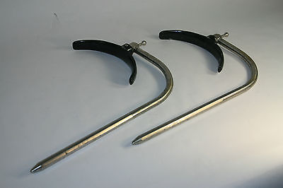 ALM (STERIS) Pair of thigh holders / Surgical Table / General sugery