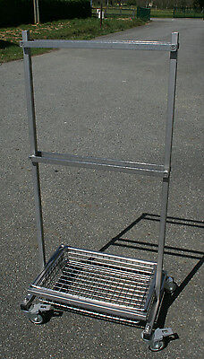 ALM (STERIS) TAB 257 Trolley for table surgery accessories / Porte-accessoires