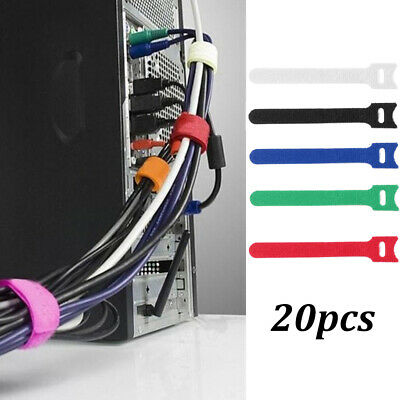 Convenient Fastening  Nylon Strap Wire Management Cable Organizer Cord Tie