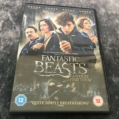 Fantastic Beasts And Where To Find Them DVD 2016 JK Rowling Harry Potter