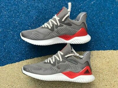 ca61ed92a 🔥 120 Adidas Alphabounce Beyond M Running Shoes 12 grey white red 24 7