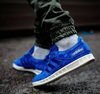 finest selection 0d64f 97b0b 🔥175 Mens ADIDAS CONSORTIUM X FOOTPATROL X JUICE HANDBALL TOP SE Blue 11  EQT
