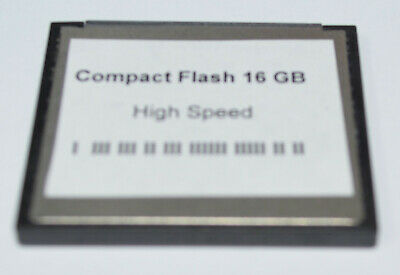 16 GB CompactFlash Speicherkarte Compact Flash Karte CF für Digital Kamera