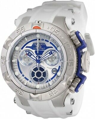 Invicta 26172 Star Wars Men's 50mm Chronograph Stainless Steel Blue/Silver Watch