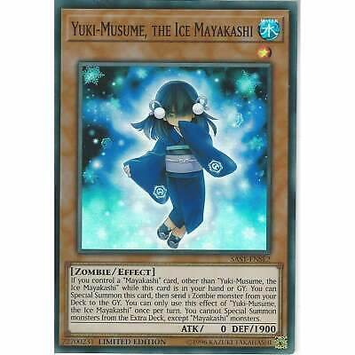 Yu-Gi-Oh! TCG: Yuki-Musume, the Ice Mayakashi SAST-ENSE2 - Super Rare Limited Ed