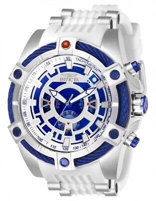 Invicta 27232 Star Wars Men's 52mm Chronograph Stainless Steel Blue/Silver Watch