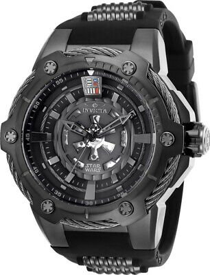 Invicta Men's 26123 Star Wars Automatic Multifunction Grey, Black Dial Watch