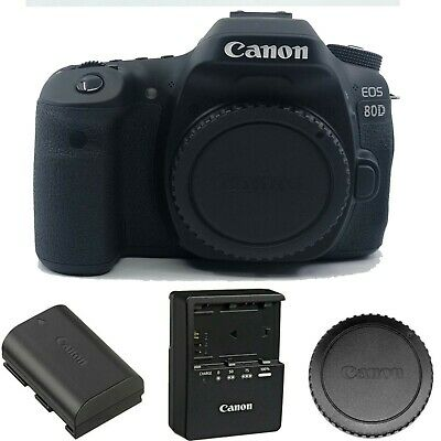 Canon EOS 80D DSLR Camera (Body Only)- New 1263C004