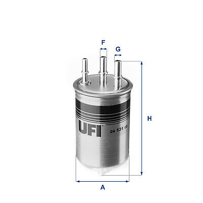 2413100 UFI Fuel Filter Diesel Replaces 2240008020,2247008B00,6650921201