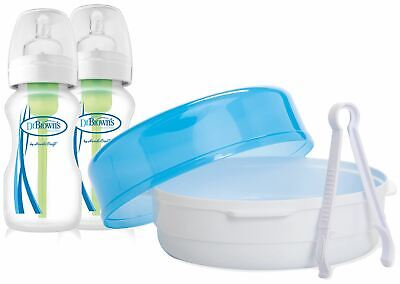 Dr Brown'S OPTIONS MICROWAVE STERILISER Baby Bottle Feeding Sterilisers BNIP