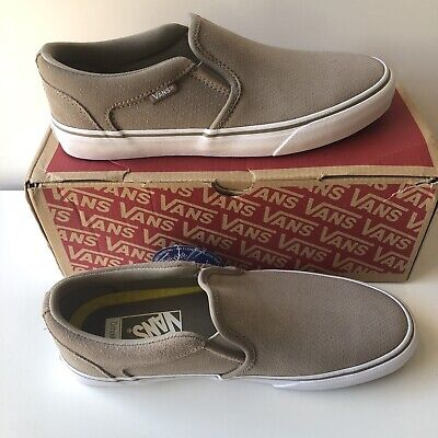 21eb6056db52e VANS ASHER Deluxe Slip On Perforated Suede Skate Shoes Women's 9 Ortholite  Dot