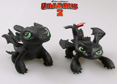 How to Train Your Dragon Dragon Toothless Night Fury Action Figure PVC Toys Doll
