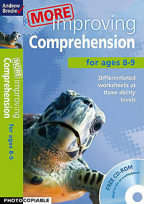 Very Good, More Improving Comprehension 8-9, Brodie, Andrew, Book