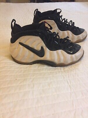 707d4486390 1997 NIKE FOAMPOSITE Pro Pearl Size 9.5 Vintage 830027 101 VERY RARE ...