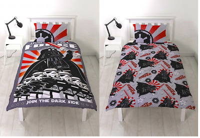 Lego Star Wars Imperial Stormtroopers Single Reversible Duvet Cover Bedding Set