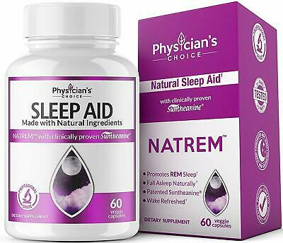 Sleep Aid with Valerian Root Melatonin100% Natural Insomnia Relief EXP 05/20