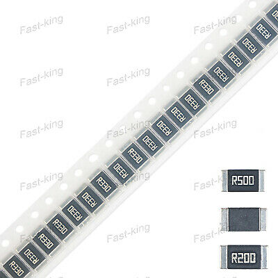 Alloy SMD Clip Resistor 2512 1% 1/2/3W 0.1 0.07 0.05Ω Ohm - Full Range of Values