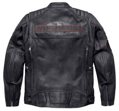 Brand New Genuine Harley Davidson Leather jacket Mens CANTER 97180-17VM