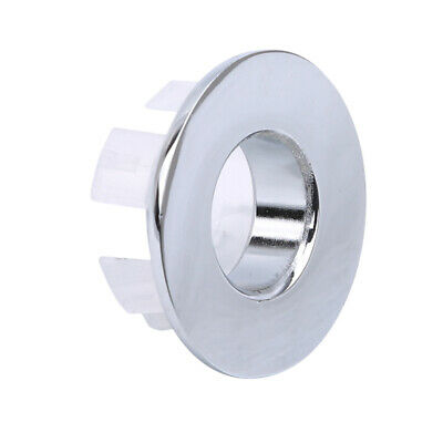 Brass Basin Overflow Spare Bathroom Sanitary Sink Round Trim Parts Ring G4I7