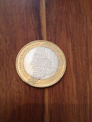 UK Rare Great Britain £2 POUND coin - Charles Dickens 2012 - Coin Hunt