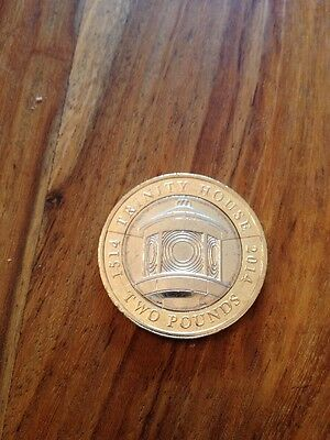 £2 COIN TWO POUND 500th ANNIVERSARY TRINITY HOUSE COLLECTABLE 2014