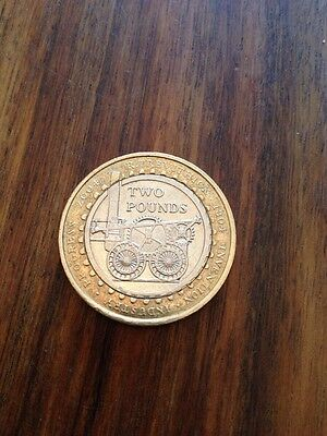 RARE R Trevithick Invention Industry 1804-2004 2pound coin