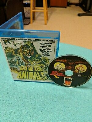Day Of The Animals (Blu-ray) SCORPION! RARE OOP HORROR! LESLIE NIELSEN!