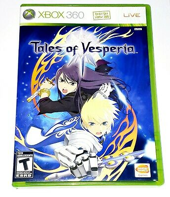 Tales of Vesperia (Microsoft Xbox 360, 2008) Complete Tested Very Good Condition