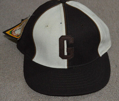 NWT Homestead Grays Negro League Fitted Baseball Cap Hat Roman Pro 2dc0b2d614df