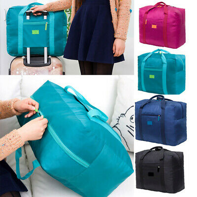 Packable Travel Duffel Bag Waterproof Nylon Foldable Carry-on Package Versatile