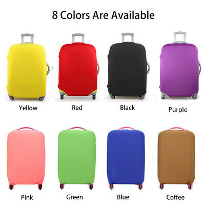 "Travel Luggage Cover Protector Suitcase Dust Proof Bag Anti Scratch 18"" ~ 30"""