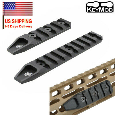 Alum 5/9 Slots Keymod Picatinny/Weaver Rail Base Segment Mount Adapter For URX