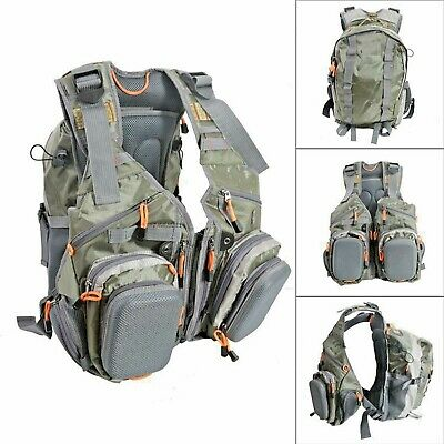 Fly Fishing Vest Delta Pro Ultimate Guide Series Vest and Backpack Combination