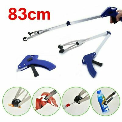 New Grabber Claw Reacher Gripper Foldable Extend Trash Rubbish Pick Up Tool S4