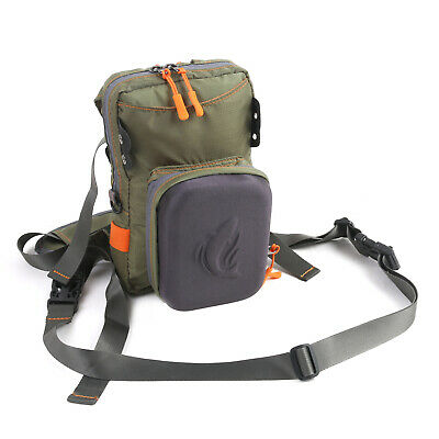 Delta Fly Fishing  Chest Pack - Work Bench alternative to the Fly Fishing Vest