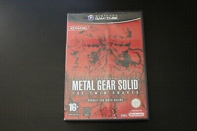 Metal Gear Solid Twin Snakes Juste CD1 Seulement PAL FR