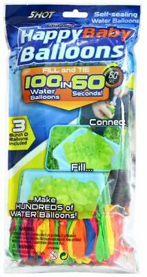 100 Water Balloons Bombs Multi Color Kids Summer Party Fun Toys Bag Fillers New